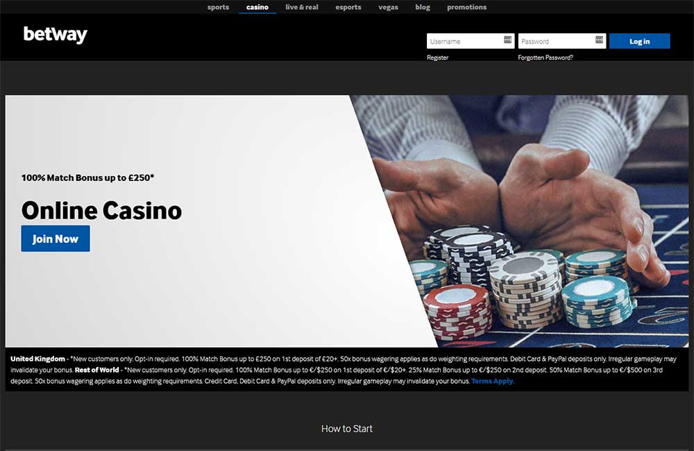 Betway Casino Complaints